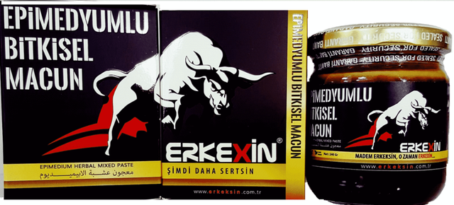Erkexin Horny Goat Weed 240 gr. Epimedium Turkish Paste %100 Halal 2