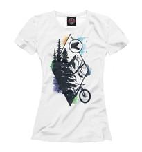 Girls's T-shirt Bike