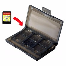 For Nintend Switch Card Storage Box ABS Protable 24 In 1 Mic