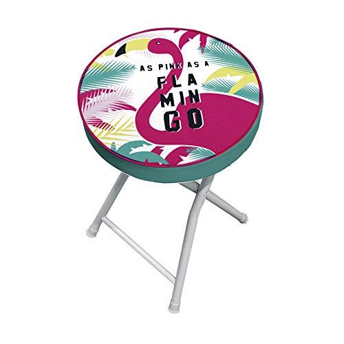 ARDITEX Stool PVC Round Flamenco Flamingo