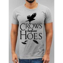 Мужская футболка bla sign crows before hoes модная рубашка топ