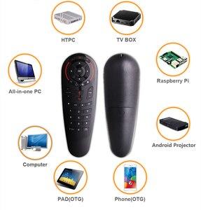 Image 3 - Universale G30 2.4G del Giroscopio Wireless Air Mouse 33 Tasti di Apprendimento IR Intelligente di Voce di Controllo Remoto per Android TV Box TV vs G10 G20