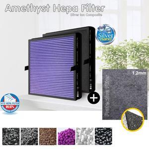 Фильтр очиститель воздуха Nikken Kenko, совместимый с Hepa-фильтром, новый противовирусный серебристый ионный защитный фильтр