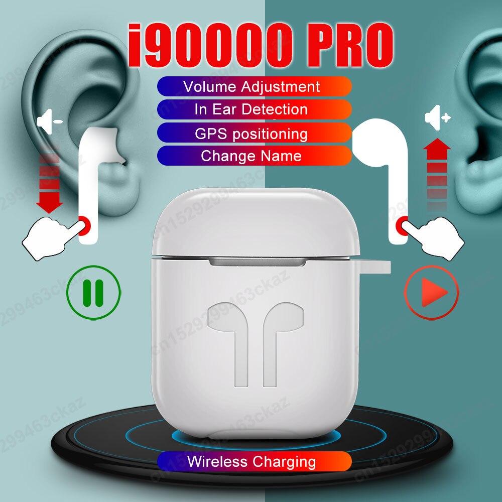 I90000 Pro TWS contrôle du Volume capteur intelligent changement de nom écouteurs Bluetooth écouteur PK i7s i200 i9000 i10000 i100000 TWS