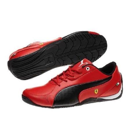 Junior Shoes Ferrari Drift Cat 5L Red Size 30