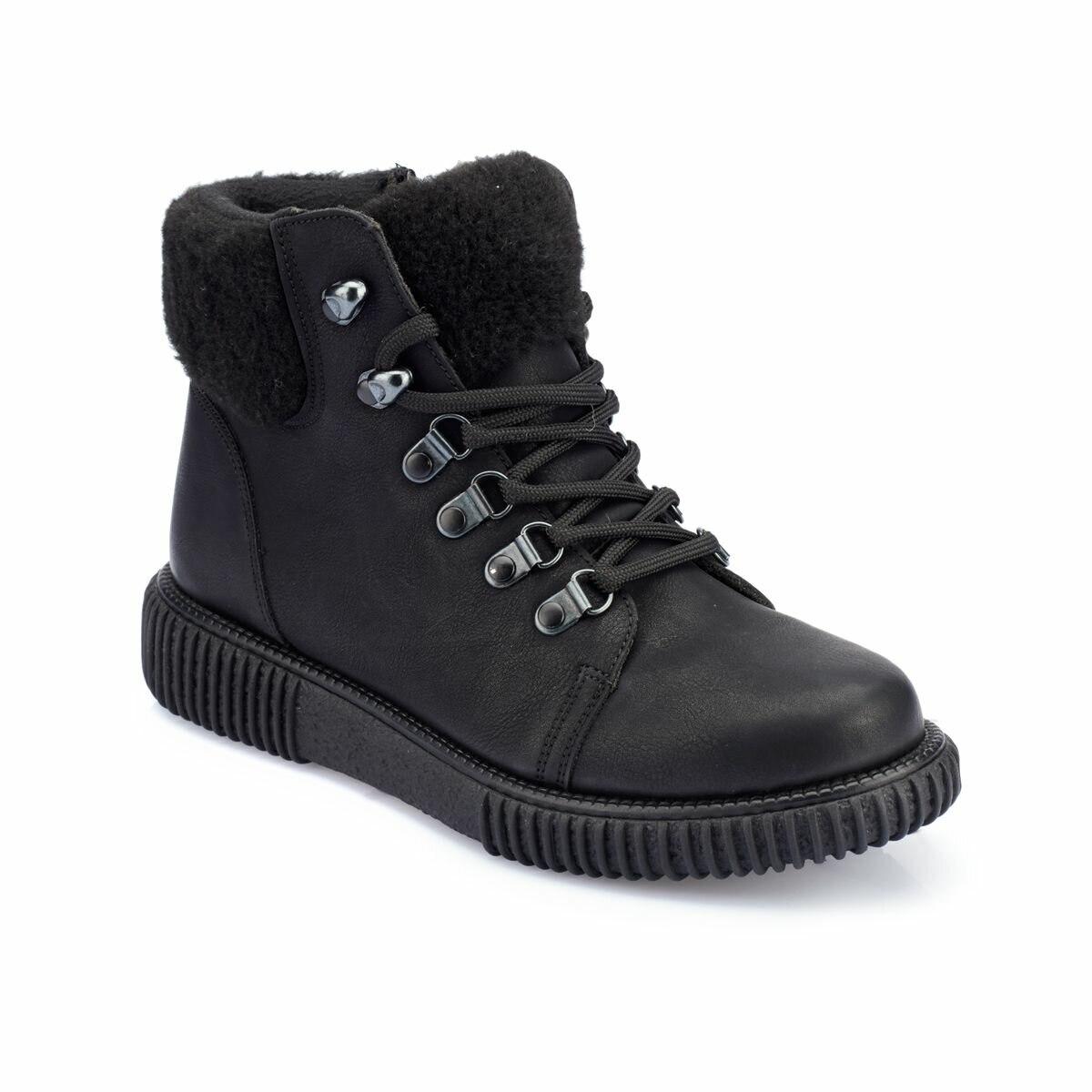 FLO 82.312386.Z Black Women Boots Polaris
