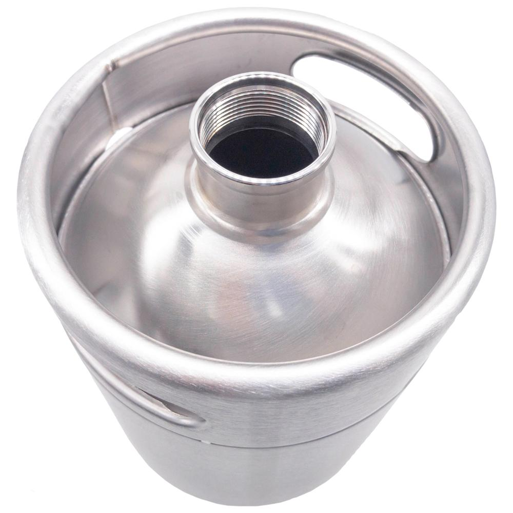 2/3,6/5 L. Mini keg beer, brewing, capacity for mug, stainless steel 3