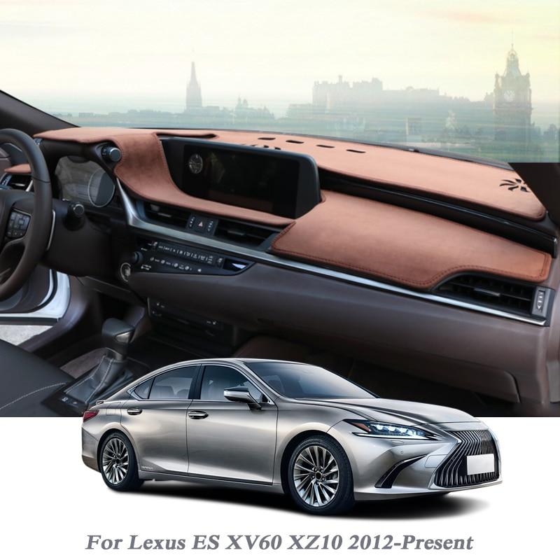 Car Styling Dashboard Protective Mat Shade Cushion Pad Flannel Carpet For Lexus ES XV60 XZ10 2012-Present RHD&LHD Accessory