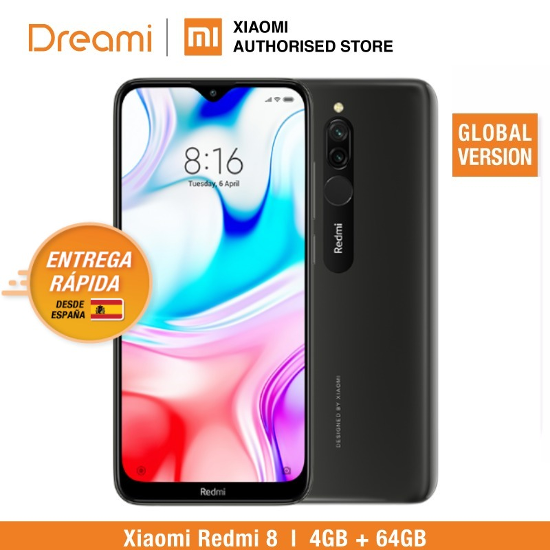 Global Version Redmi 8 64GB ROM 4GB RAM (Brand New And Official) Redmi8 64gb Redmi864