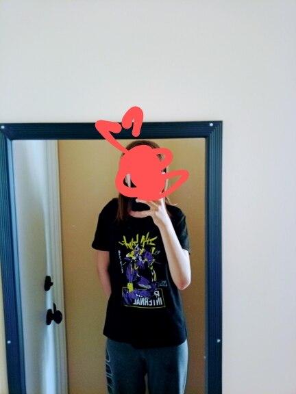 Evangelion Shingeki No Kyojin Men's and women's T-shirts tshirt women vintage ulzzang kawaii print top tees t shirt aesthetic photo review