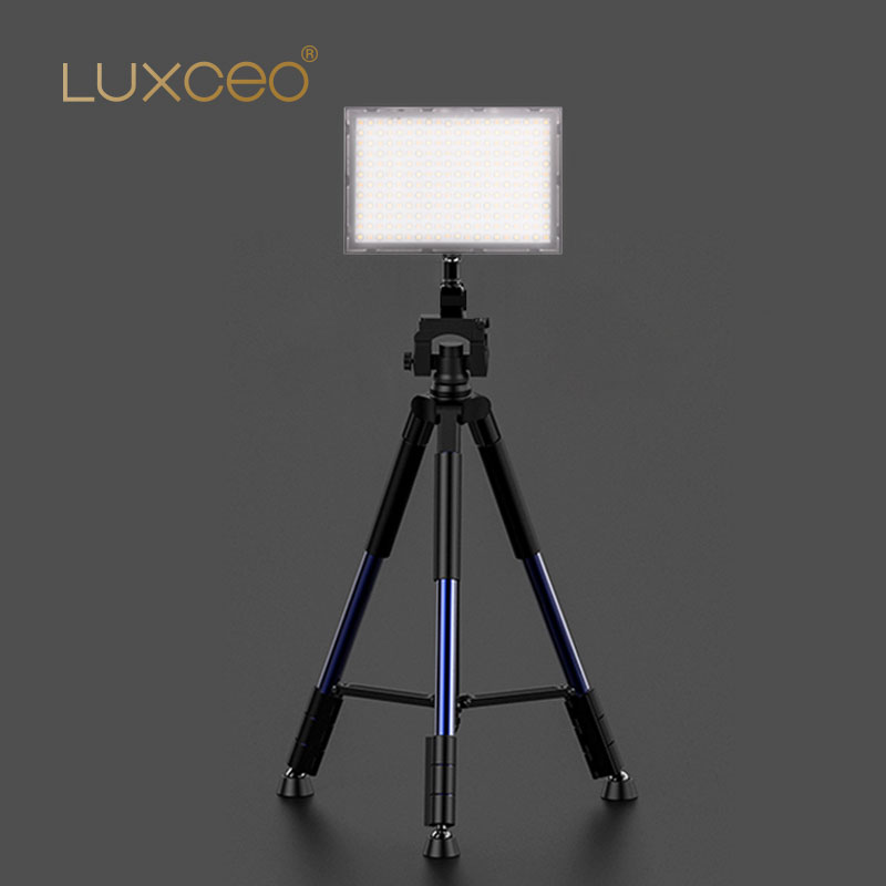 Professional LED Video Light 9W 1000LUX 4000mAH/7.4V Polymer Battery USB Rechargeable Powerbank Video LED Light for Photography