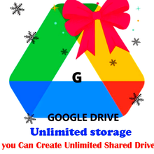 Personal Storage Unlimited on Google Drive with your Gmail.