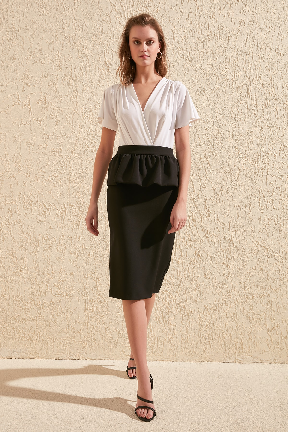 Trendyol Ruffle Detail Skirt TWOSS20ET0037