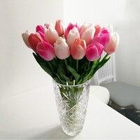 WEIGAO 10 قطعة الزهور الاصطناعية حديقة الزنبق ريال اللمس الزهور الاصطناعي الفقرة الديكور باقة الزفاف Mariage ديكور المنزل