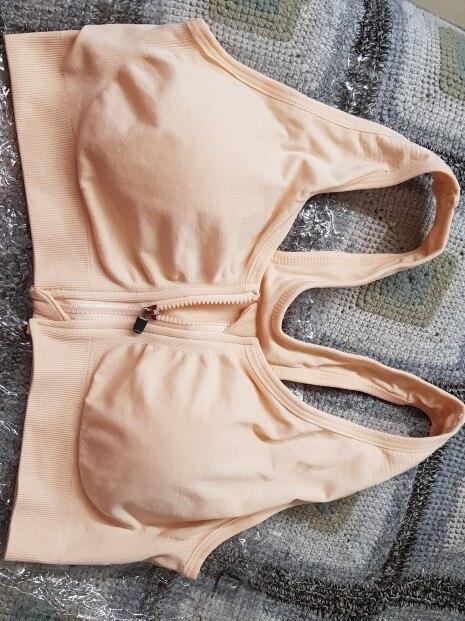 Zipper Professional Wireless Shockproof Bra Explosion Hit Color Fitness Underwear Vest Push Up Bra lingerie modis bralette-in Bras from Underwear & Sleepwears on AliExpress - 11.11_Double 11_Singles' Day