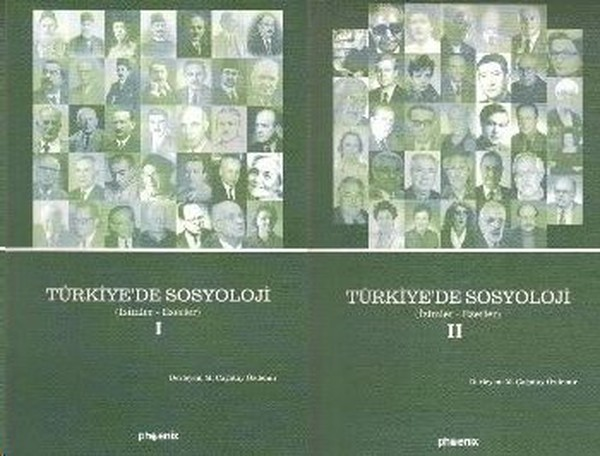 Türkiye'de Sociology 1-2 (Paperback Suit) M. Çağatay Özdemir Phoenix Publishing House General Sequence (TURKISH)