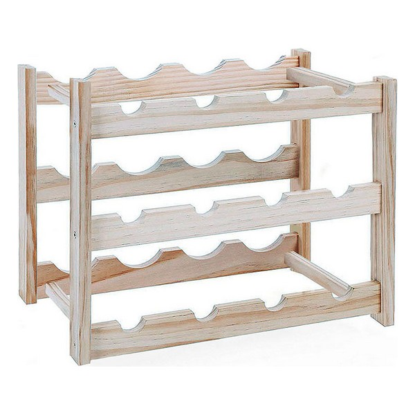 Bottle Rack Confortime Wood (12 Bottles)