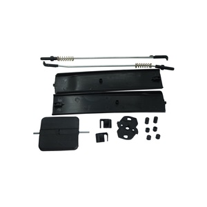 Image 4 - Bross Auto Parts BDP964 Side Sliding Window Glass Latch Cover Repair Set 7H0847788A, 7H0847781B, 7H0847785 for VW T6 Caravelle