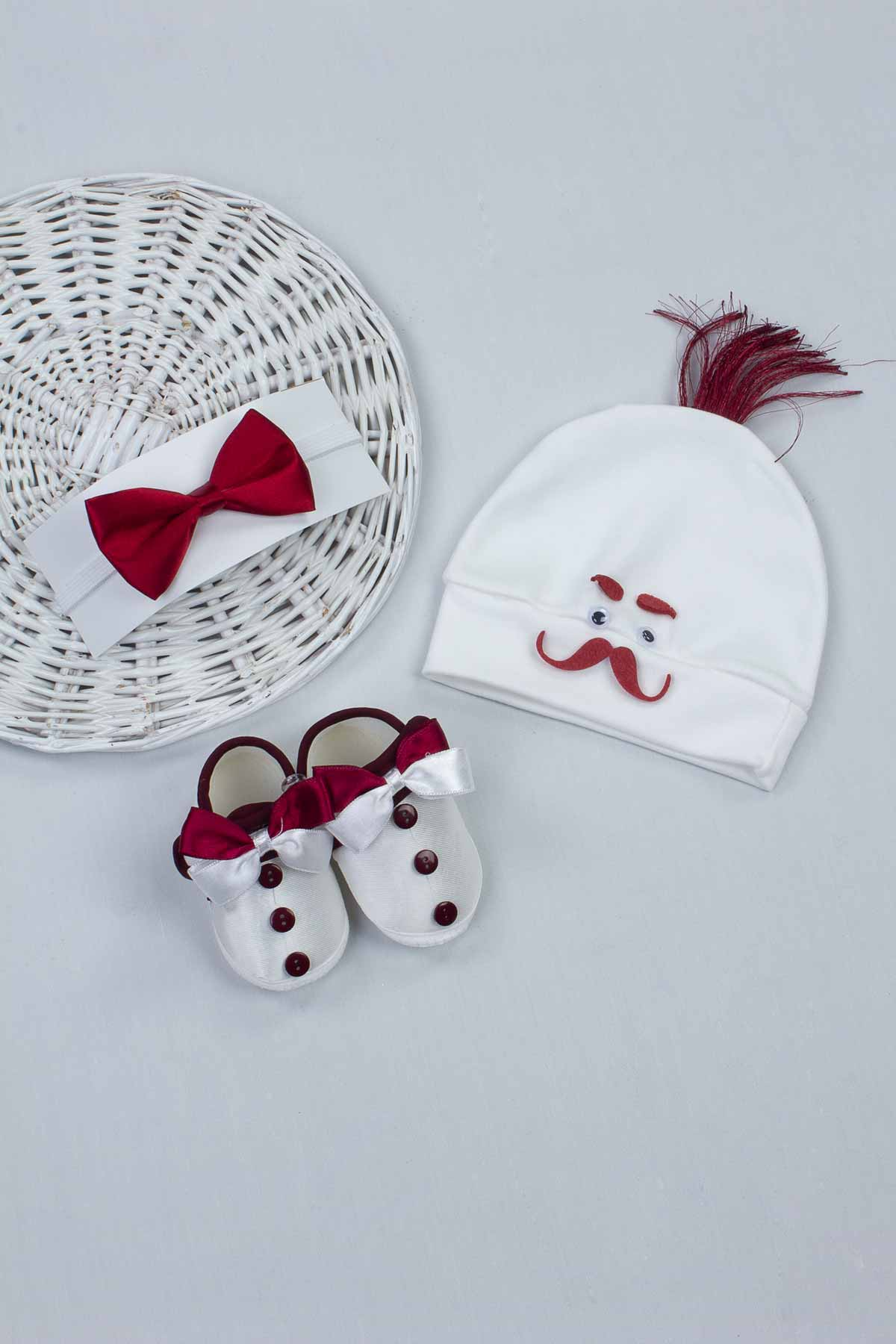 Baby Girl Boy Mommy Special Day Newborn Infants Clothing Prince Princess Gift Set Birthday Outfit Shoes Crown Bowtie Slippers