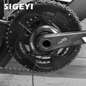 Image 5 - Axo Racefiets Power Meter Cadanssensor Ant + Bluetooth Dubbelzijdige Spider Power Meter Fiets Crank Powermeter 110bcd 130bcd