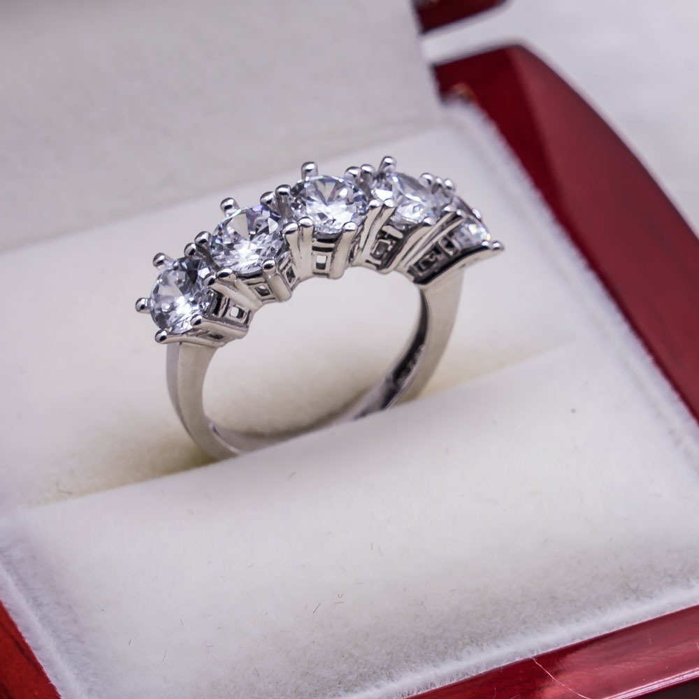 925 sterling Silver Dibs Lady Ring Model 16()