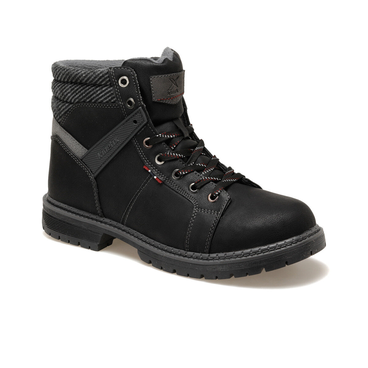 FLO THAT 9PR Black Men Boots KINETIX
