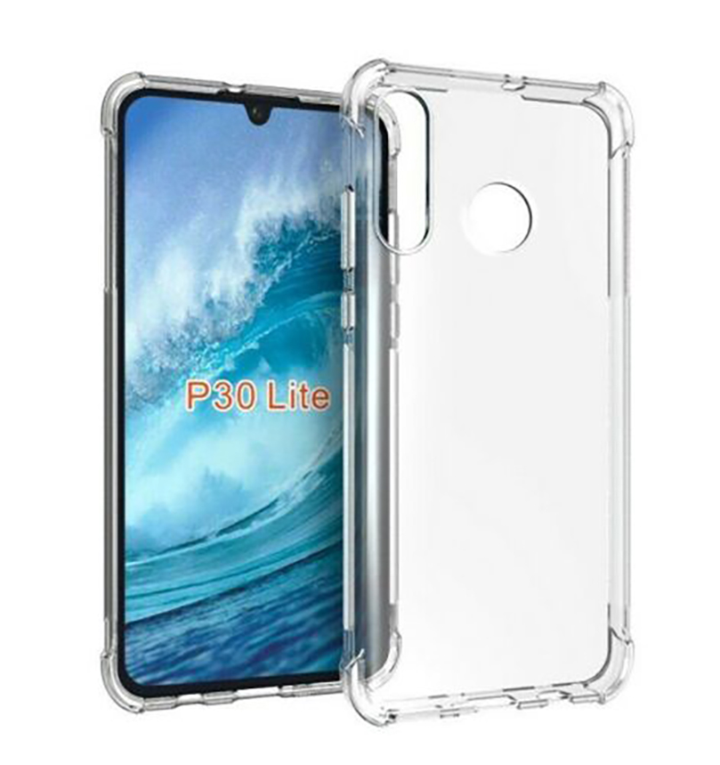Stand Case For HUAWEI P30 LITE Anti Shock Clear Gel Anti-Shock