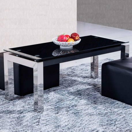 Center Table Liftable Universal Structure Chrome Covers.