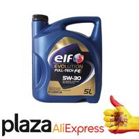 Elf Evolution Full Tech FE 5W30 5L   Aceite para motor Lubricante de coche ACEA C4 C3 Aceite de motor    -