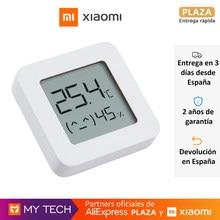 Xiaomi Mi Temperature and Humidity Monitor 2, termostato, monitor de temperatura y humedad inteligente, pantalla LCD Digital