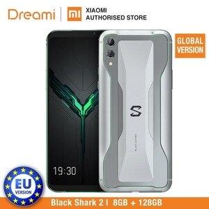 Image 2 - Global Versie Xiaomi Black Shark 2 128 Gb Rom 8 Gb Ram Shadow Black Gaming Telefoon (Brand New) blackshark2128 Smartphone Mobiele