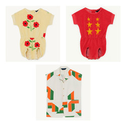 IN STOCK 2020 TAO Spring and Summer New Children's WHITE APE JUMPSUIT baby girl RED KOALA JUMPSUIT boy  JUMPSUIT