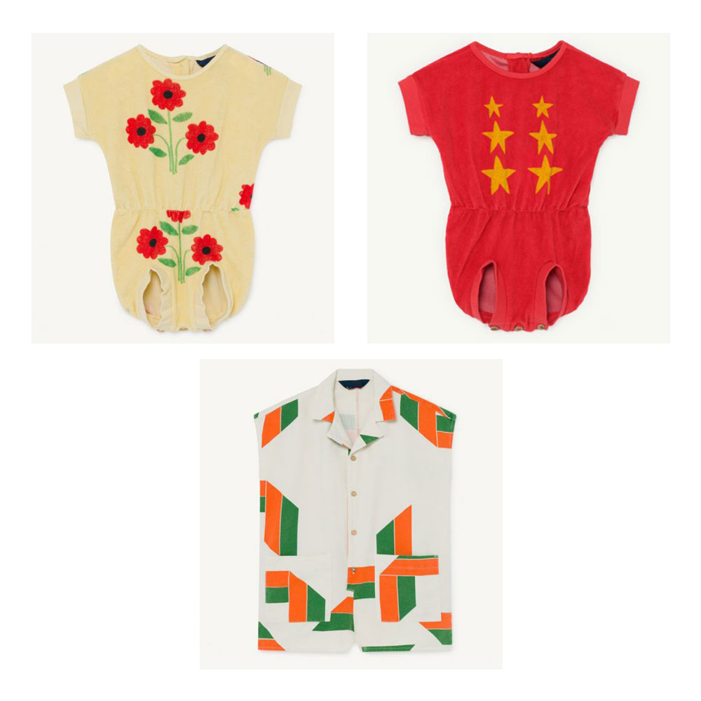 Pre-sale 2020 TAO Spring And Summer New Children's WHITE APE JUMPSUIT Baby Girl RED KOALA JUMPSUIT Boy  JUMPSUIT