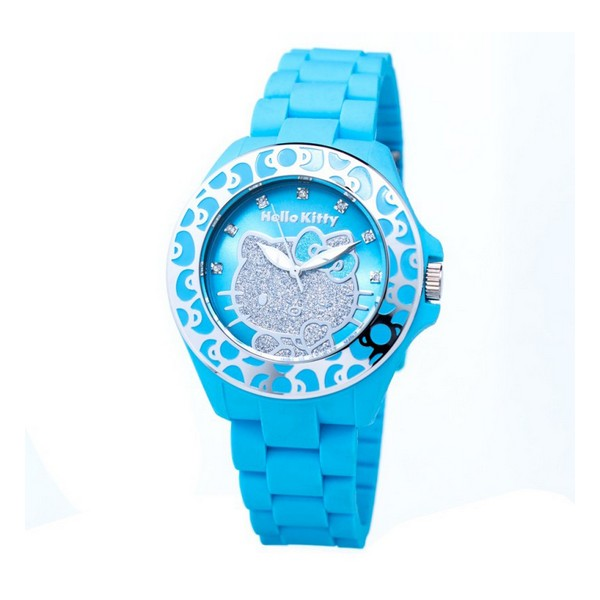 Infant's Watch Hello Kitty HK7143B-01 (45 Mm)