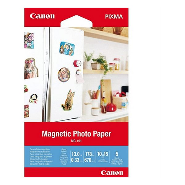 Glossy Photo Paper Canon MG-101 (5 Sheets)