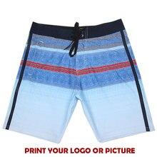 Высокое качество логотип на заказ бордшорты мужские пляжные шорты-бермуды костюм для серфинга мужские плавки шорты N313