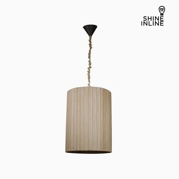 Işıklar ve Aydınlatma'ten Kolye ışıkları'de Tavan açık kahverengi (45x45x60 cm) parlaklık Inline