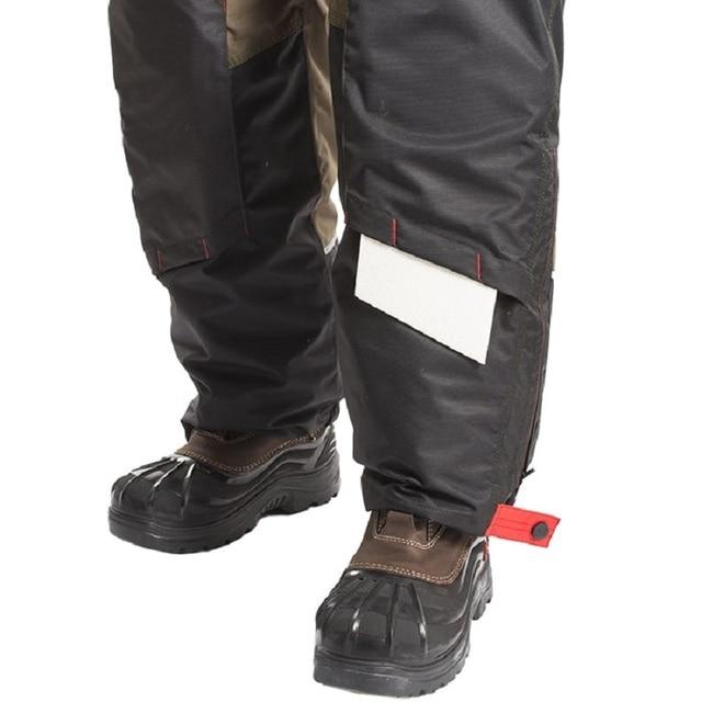 Мужской костюм для зимней рыбалки, непромокаемый непотопляемый для безопасности на воде 5