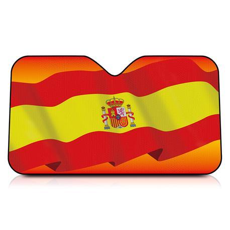 INT41113 Sunshade For Car Spain Flag 130X70
