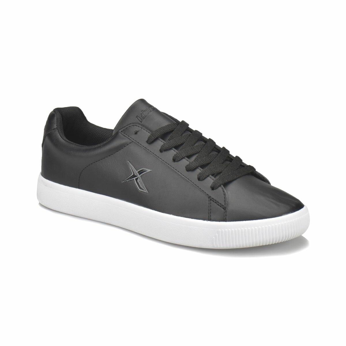 FLO DUPLO PU M Black Men 'S Sneaker Shoes KINETIX