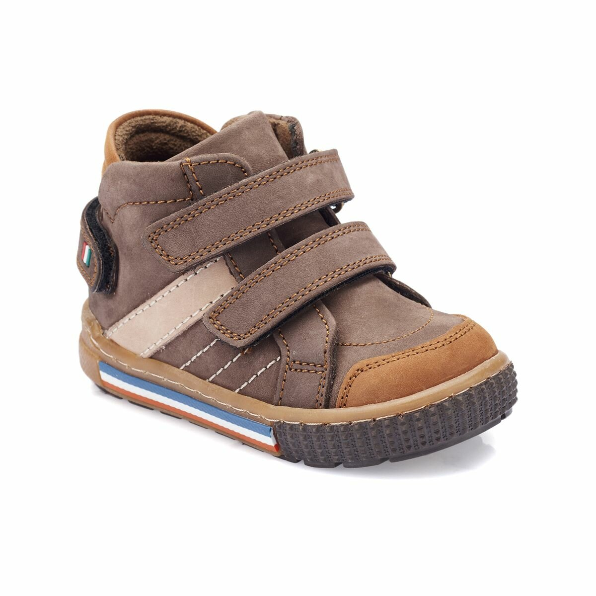 FLO 82.509581.B Brown Male Child Boots Polaris