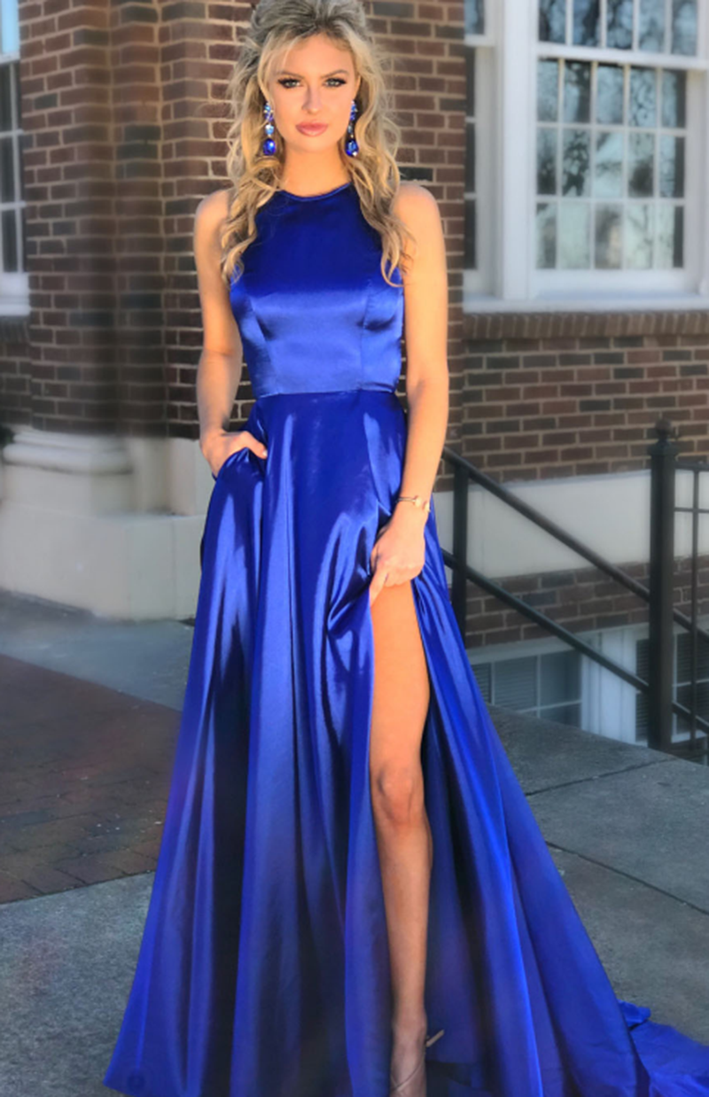 royal blue prom dresses - 588×882