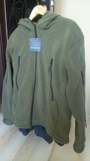 TheRex Loose-Fit Fleece Jacket photo review