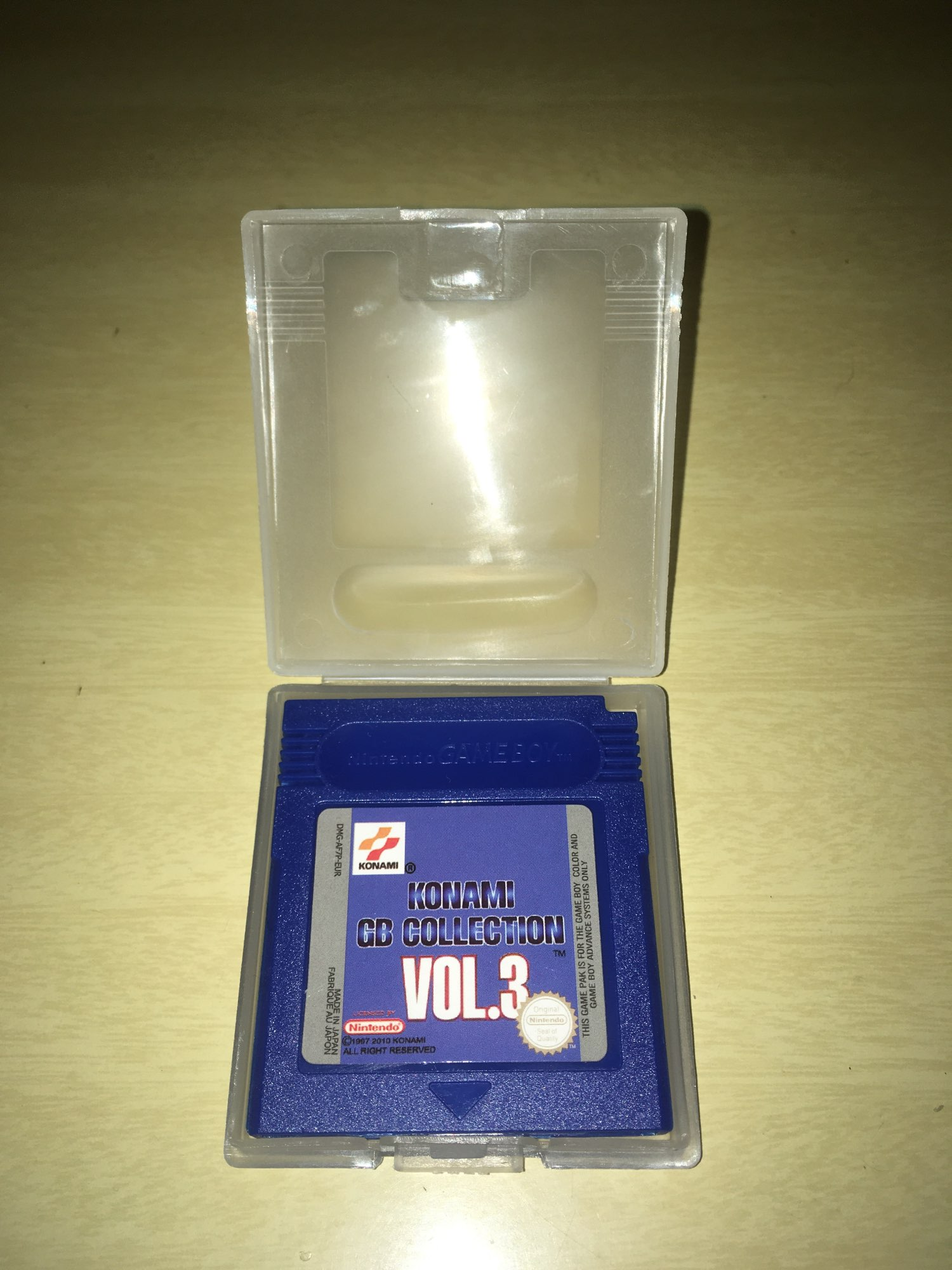 For Nintendo GBC Video Game Cartridge Console Card Konami GB Collection VOL.3 English Language Version photo review