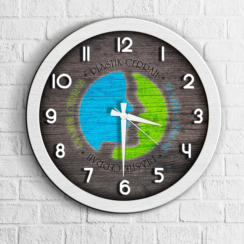 Personalized Professional Plastic Surgeon Wood Wall Clock-1 image