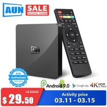 AUN Smart TV Box Android 9.0 ,2GB RAM+16G ROM 4K Ultra HD De