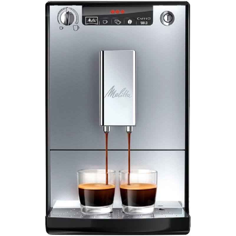 Автоматическая кофемашина Melitta Caffeo Solo E 950-103, серебристый цена и фото