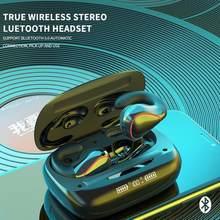 Verdadeiro Esporte Condução Óssea Fone De Ouvido Bluetooth Sem Fio Fone De Ouvido Estéreo de Alta Fidelidade Fones de Música Não In-ear fone de Ouvido para Iphone Xiaomi