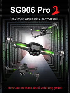 LAUMOX Quadcopter Gimbal Zoom Rc Dron Dual-Camera Professional 3-Axis Sg906 Pro Brushless