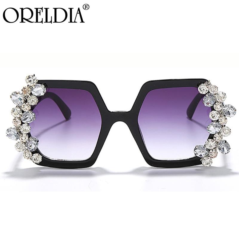 Büyük boy elmas güneş gözlüğü kadın 2020 Vintage kare taklidi güneş gözlüğü tek parça Punk gözlük erkekler Gafas tonları UV400
